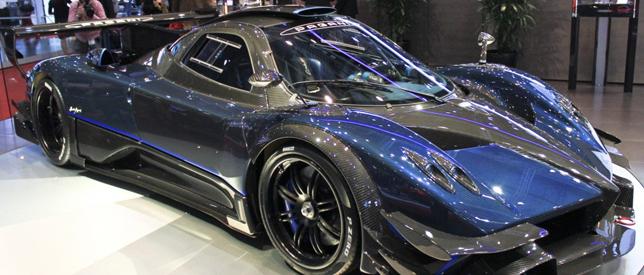 Pagani Zonda Geneva Motor Show 2014