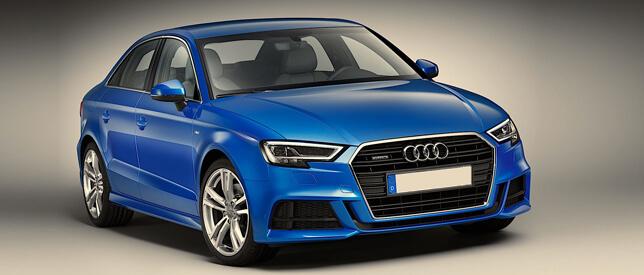 Audi-A3 Facelift 2017